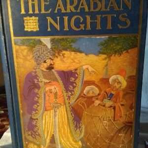 "Antiguo libro "" te Arabia Nights"" the Windermere Series"